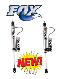 Fox Remote Reservoir Shocks Front 0-1.5 Kits for 08-18 Ford F-250/F-350