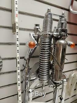 Front Fork FXSTS Springer Softail Factory Harley OEM Chrome chopper Panhead Shov