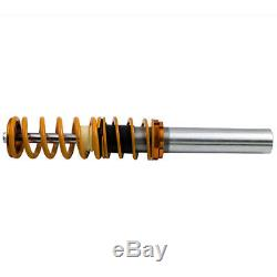 Front + Rear For BMW 3 Series E92 E93 Adjustable Coilover Suspension 50mm Front