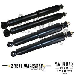 Front & Rear Shock Absorbers Set 4x For A Mitsubishi Pajero/shogun Mk2 1990-on