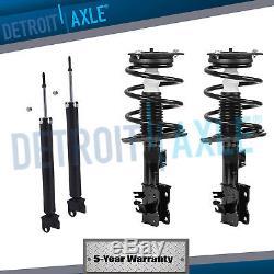 Front Strut Set Rear Shocks for 2007 2008 2009 2010 2011 2012 Nissan Altima 2.5L