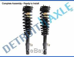 Front Struts & Coil Spring for 2006-2009 Ford Fusion Mercury Milan Lincoln MKZ