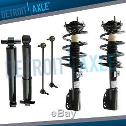 Front Struts, Sway Bars, Rear Shocks 6pc Kit, Buick, Chevy, GMC, Saturn SUV's