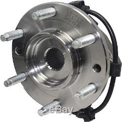 Front Wheel Hub and Bearing Set withFront Complete Strut & Spring 16mm Only