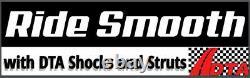 Full Set 4 New DTA Struts Shocks fit Colorado Canyon Isuzu I280 I290 2WD