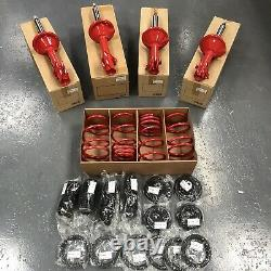 Genuine Subaru Impreza STi P1 Red Inverted Strut and Spring Set Fits GC8 V5 V6