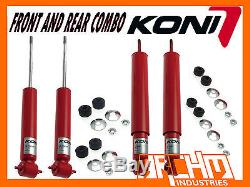 HOLDEN TORANA LH, LX, UC 6/8-cyl KONI ADJUSTABLE FRONT & REAR SHOCK ABSORBERS