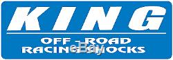 King Adjustable Front Shocks Pair 3-5 Lift OEM Performance Series 07-18 Jeep JK