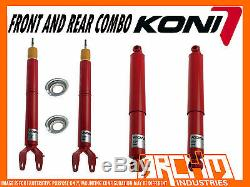 Koni Adjustable Front & Rear Shock Absorbers For Ford Falcon Fg Fgx Ute