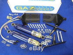 Mg Blue New Mgb Bgt Gaz Gas Front Shock Absorber Kit X2a