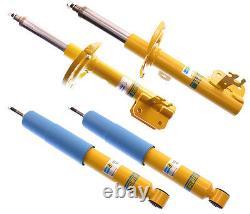 New Bilstein Shock Absorber Set, Front & Rear, 03-08 Saab Arc, Linear, Aero, 2.0t, B6
