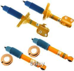 New Bilstein Shock Absorber Set, Front & Rear Shocks, 2005-2009 Subaru Legacy, B6