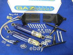 New Mgb Front Gaz Shock Absorber Kit With Fittings All Models