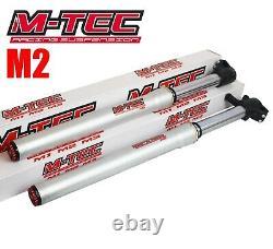 Pit bike M-TEC VOLT M2 Front Forks 550mm Suspension CW Bikes CW140 ADJUSTABLE V2