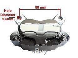 Project Bobber Custom Black Right Side Front Brake Caliper For Springer Forks