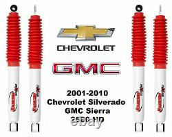 Rancho RS5000 Shock Set for 2001-2010 Chevy Silverado GMC Sierra 2500HD 4WD