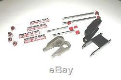 S10 Lift Kit 1-3 Forged Torsion Keys 3-4 Shackles Doetsch Tech Shocks 4wd 4x4