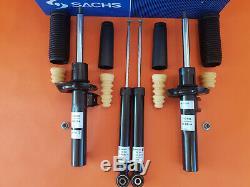 SACHS 4x Front Rear Shock Absorbers VW GOLF PLUS SAGITAR GOLF V VI MK5 MK6 55MM