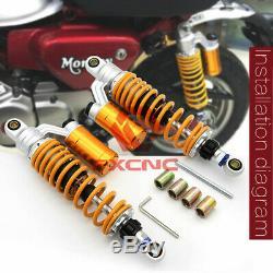 Shock Absorber Suspension Damper 320-340mm For Honda Monkey Bike Z125 2018-2020