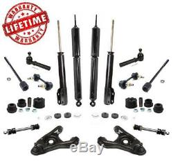 Shock Absorbers Control Arms Sway Bar Links Tie Rods for Ford Mustang 1999-2004