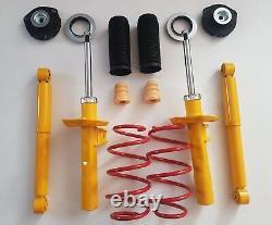 Sport suspension lowering kit springs shock absorbers bearings VW Caddy MK3 2K