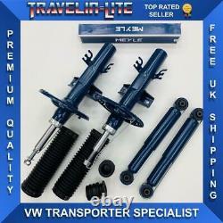 T5 T5.1 Meyle Front & Rear Suspension Shocks Kit Quality Transporter 03 On