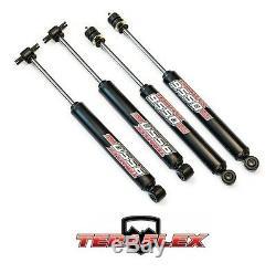TeraFlex 3-4 9550 VSS Front Rear Shock Absorber Kit For 07-18 Jeep Wrangler JK