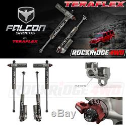 Teraflex Jeep Wrangler JK 4-Door Falcon Series 3.3 Piggyback Shocks w 4-6 Lift