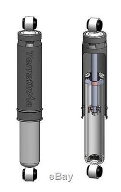 Terrafirma All Terrain Full Set Shock Absorbers For Mitsubishi L200 1996-2006