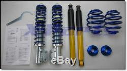 Tuningart coilovers Opel Corsa A + B 20-70 mm + gas charged shock absorber new