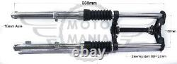 Upgraded customized tracker Front suspension fork kit 10mm Honda cub C50 C70 C90