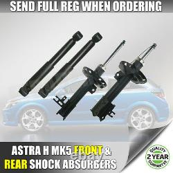 Vauxhall Astra H 04-11 Front & and Rear Shock Absorbers x 4 Shocks Dampers NEW