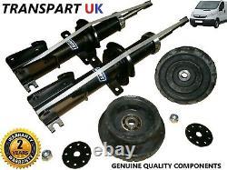 Vauxhall Vivaro Front Shock Absorbers Top Strut Mounts X2 1.9 2.0 2.5 Pair