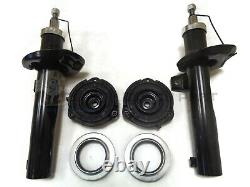 Vw Passat B6 05-11 Front Suspension 2 Shock Absorbers + Top Strut Mounting Kits