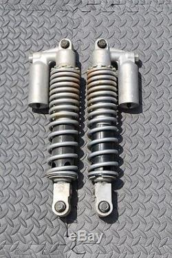 Yamaha YFZ450 front SHOCKS absorber springs setup 2004-2008 YFZ 450 SILVER